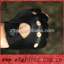 2013 plain ladies half finger glove