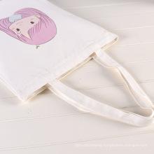 wholesale custom logo promotional plain black latest organic cotton canvas tote bag