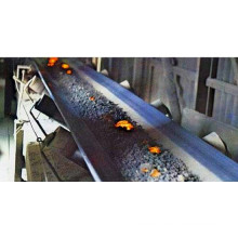 Banda transportadora de goma resistente al calor