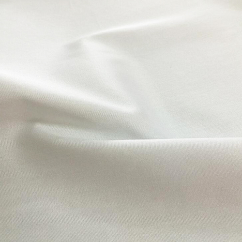 T / C 65/35 Air-jet Loom Twill White Fabric
