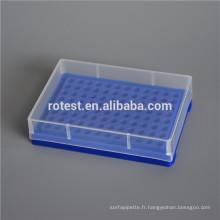 Micro tube de centrifugeuse 0,2 ml, boîte de tube PCR