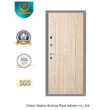 Porte en acier de sécurité simple avec la poche en acier de porte (Q-1011)