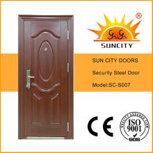 Качели медный Стиль стали безопасности металлическая дверь с косяком (ЅС-S007)