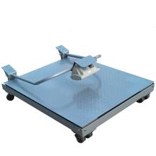 Balance au sol électronique pliable avec roues
