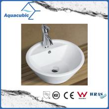 Ceramic Cabinet Art Basin and Vanity Top Hand Washing Sink (ACB8244)