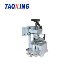 Máquina de impressão de almofada manual de cor única de alta qualidade