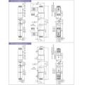 Electrovannes pneumatiques série 3V100 à 3 positions