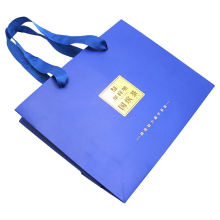 China Supplier Customized Factory custom paper packaging bags with logo paper bag logo