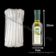 Frete grátis 750ml garrafa de vinho com saco de coluna de vidro