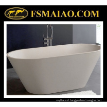 Mineral Freestanding Solid Surface Bathtub (BS-8619)