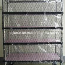 Cortina de porta antiestática da grade do PVC
