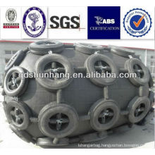 air floating type high performance with tyre-chain marine gangway rubber fenders