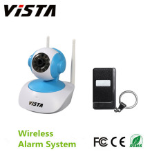 Wireless Security Alarm System Kit w / Notfall-IP-Kamera