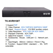 8CH CCTV Network DVR