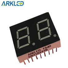 0,43-дюймовый 2-значный 7-сегментный светодиодный дисплей