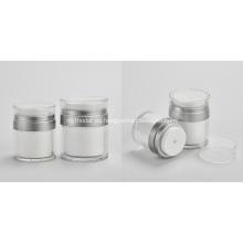 Tarro de empaquetado de crema acrílica pequeño de 50 g