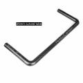 High Strength 100% 25mm curved carbon fiber tube