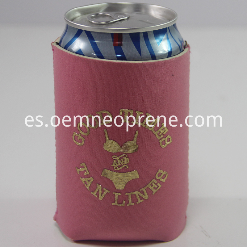Light Pink Can Cooler