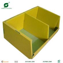 Caja de presentación de dos compartimentos