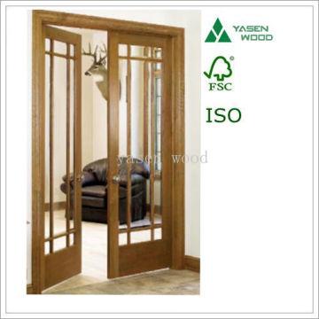 Porte en bois composite vitrée Intermérique Tmber