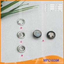 Personnalisé Nice Design Clothes Prong Snap Button MPC1030