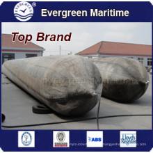 Airbags marins pour le lancement de navires