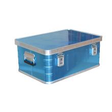 Empty Aluminum Case with EVA Lining for Storage
