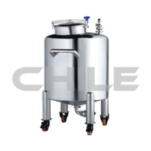 Hermetic movable cylinder mixing tank