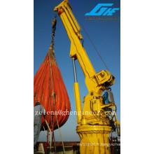 Manutention flexible Grue télescopique en vrac sec utilisée sur port / navire