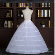 Hochwertige 6 Reifen Crinoline Braut Hochzeit Spitze Petticoat