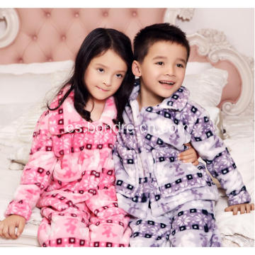 Kids Soft Touch Fleece Pijamas Traje