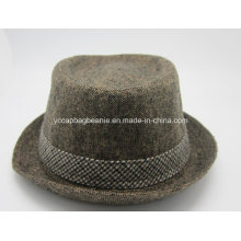 Chapéu alto do mágico do feltro de lã; Chapéu do feltro de lã dos homens
