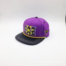 Headwear Patch Metal Buckle Cap with Letter Logo (ACEK0105)