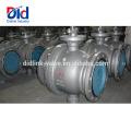 Betätigungssperrung Pneumatische Steuerung 2 3 Feststehender Sicherheits-Kugelhahnschalter aus 600 Gussstahl