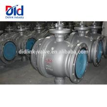 Controle pneumático de bloqueio acionado 2 3 rosca de aço fundido 600 válvula de esfera de segurança fixa