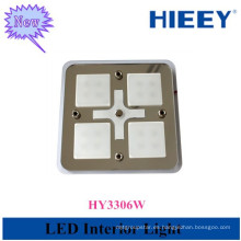 El precio barato de la alta calidad llevó la lámpara interior llevada plaza cuadrada interior para el carro y los acoplados