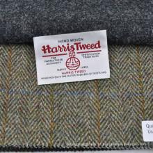 Tela tecida mão do revestimento de mistura de lã de Harris de lãs de 100%