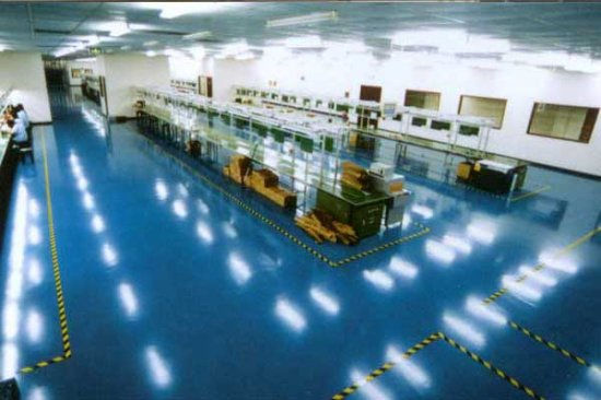 Chemical Plant Anti Corrosion Brine Epoxy Floor