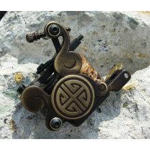New style laiton sculpture tatouage Machine Gun