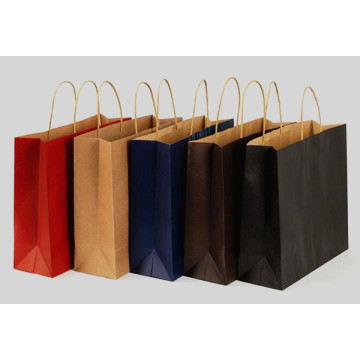 Shopping bag con stampa colorata personalizzata