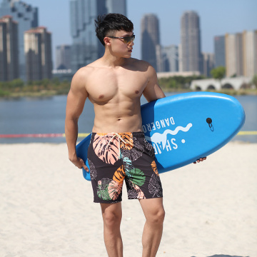 140GSM 4way Stretch Digital Print Man's Swimshort