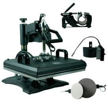 HP5IN1 Multifuncional 5in1 combo heat press machine t-shirt impressão máquina