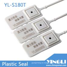 Sello de plástico de seguridad de servicio medio a 180 mm de longitud