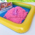 Arena educativa mágica para los niños Creative jugando arena dinámica de juego de arena