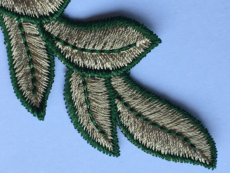 Backing Patch Embroidery