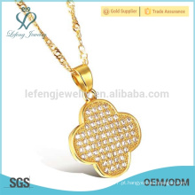 Fino, prata, Ouro, cadeia, pequeno, diamante, Ouro, turco, colar
