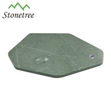 forme de feuille unique en marbre