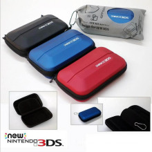 Travel Storage Carry Carring Case Hard Bag para Nintendo New 3DS NEW3DS Bolsa protetora com mezanino