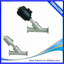Stainless Steel Two-Way Angle Seat Piston Valve For JZF-25