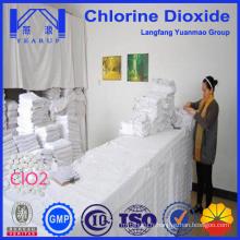 Table de dioxyde de chlore haute pureté pour désinfectant hospitalier